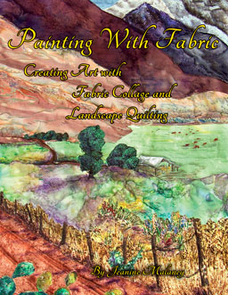 printed or e-book Painting with Fabric Cover
