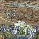 Gallery of Original Landscape Art Quilt Seremgeti
