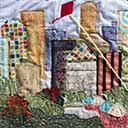 Gallery of Original Landscape Art Quilt Cityscape Skyscrapers