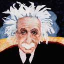 Gallery of Original Landscape Art Quilt Einstein
