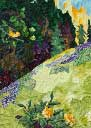 Gallery of Original Landscape Art Quilt Serenity