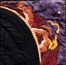 Gallery of Original Landscape Art Quilt Solar Flare