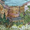 Gallery of Original Landscape Art Quilt Southwest Echo Canyon