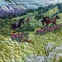 Gallery of Original Landscape Art Quilt Southwest Spirit