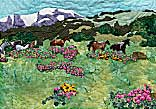 Gallery of Original Landscape Art Quilt Spirit Song