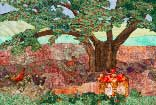 Gallery of Original Landscape Art Quilt The Old Apple Tree