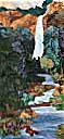 Gallery of Original Landscape Art Quilt Treasure Falls Summer