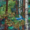 Gallery of Original Landscape Art Quilt Treetops