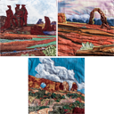 Gallery of Original Landscape Art Quilt Utah Triad