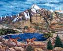 Gallery of Original Landscape Art Quilt Spirit of the West II
