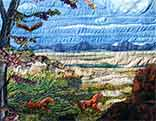 Gallery of Original Landscape Art Quilt Spirit of  American West III