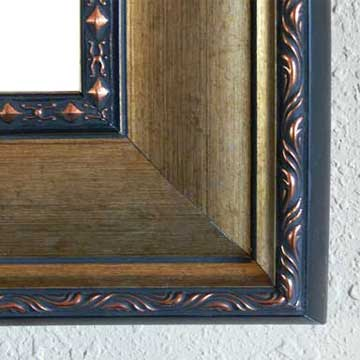 watercolor frame corner