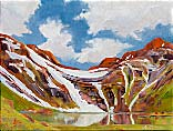 >Landscape Oil Painting Gallery  Gallery of Original Oil Painting Above Timberline