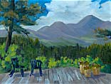>Landscape Oil Painting Gallery  Gallery of Original Oil Painting Another Day in Paradise