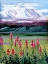 >Landscape Oil Painting Gallery  Gallery of Original Oil Painting Denali Unveiled