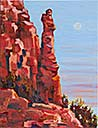 >Landscape Oil Painting Gallery  Gallery of Original Oil Painting Monk Rock