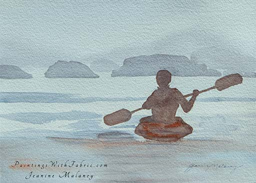 In Harmony - an Original Artwork Watercolor Painting